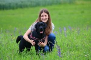 Lena mit Amy für Website